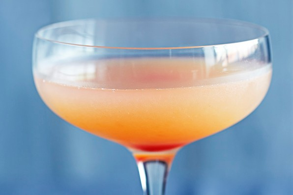 Sink the pink cocktail