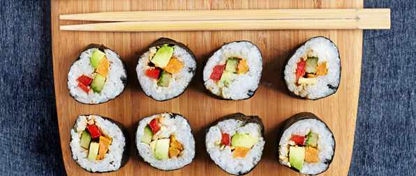 Sweet Potato And Coconut Vegan Maki Recipe