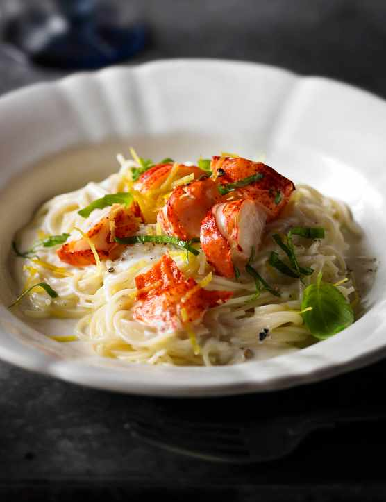 Angel Hair Pasta Recipe with Lobster