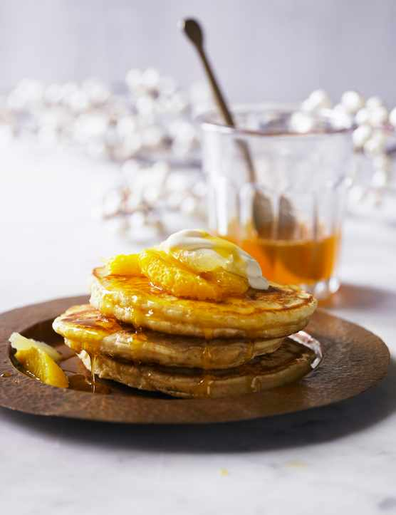 American Style Breakfast Pancake Recipe