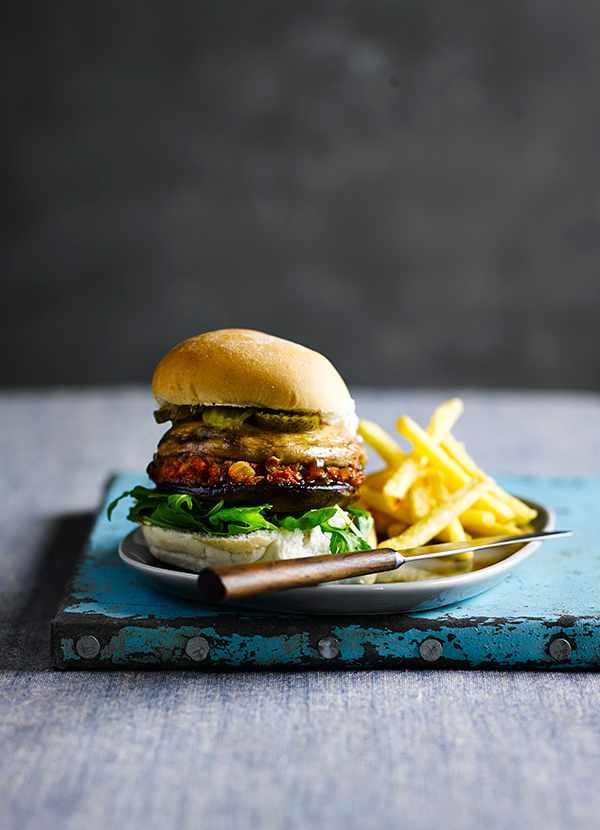 Veggie Burger Recipe For Mushroom Burgers