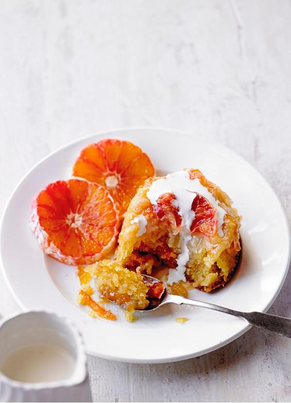 Blood Orange Pudding Recipe