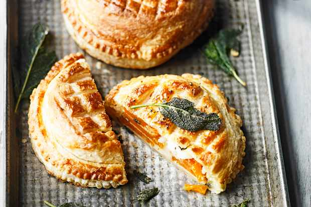 Vegetarian Pithivier Recipe With Butternut Squash and Gruyère