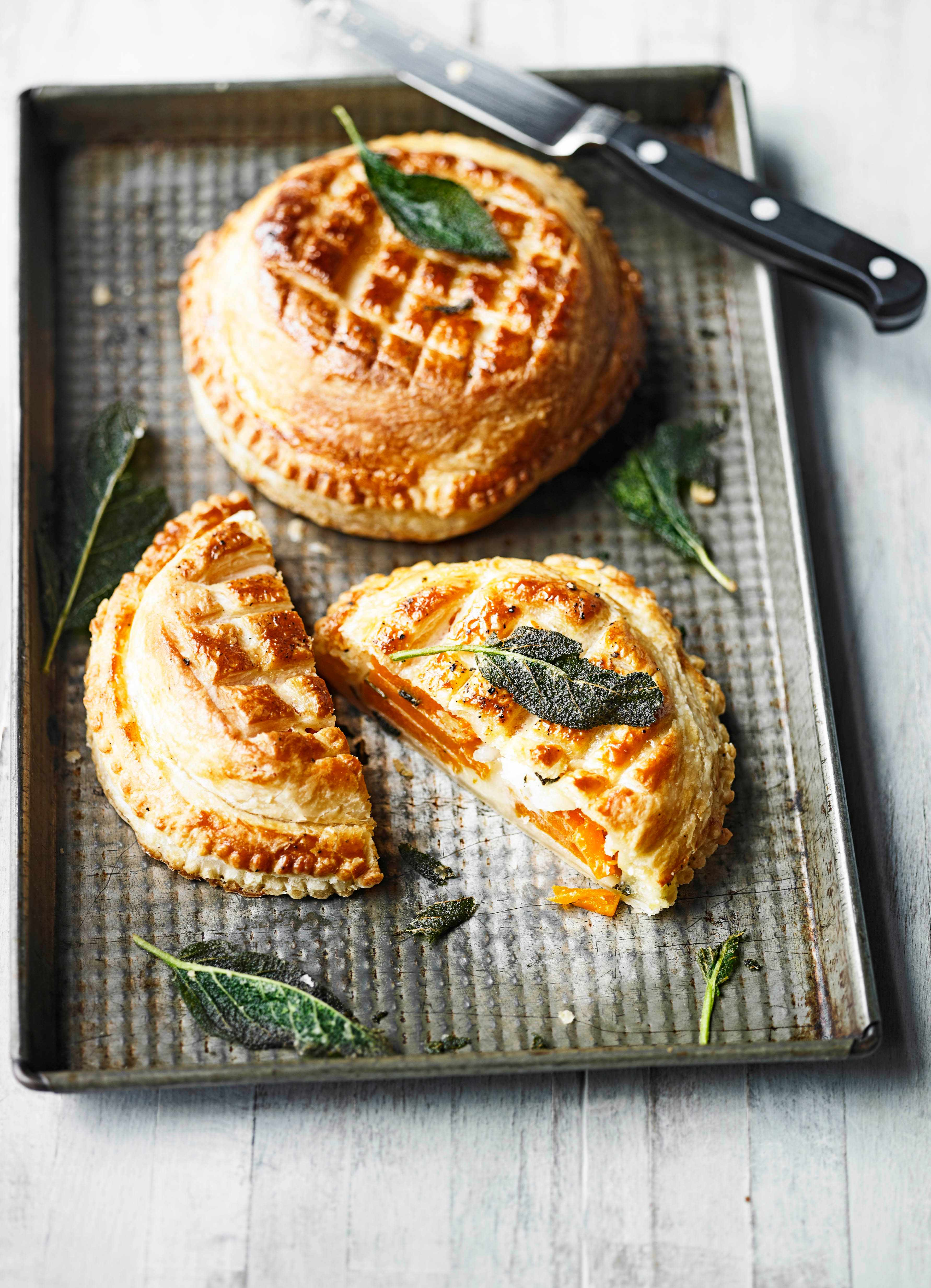 Vegetarian Pithivier Recipe With Butternut Squash