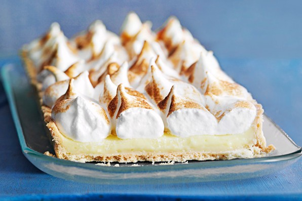Limoncello Meringue Pie Recipe