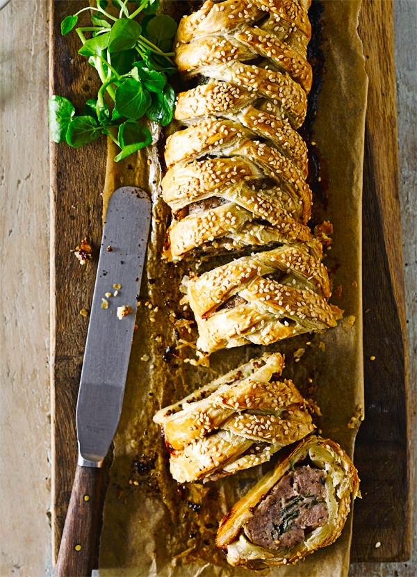 Fennel-Spiced Sausage Plait Recipe