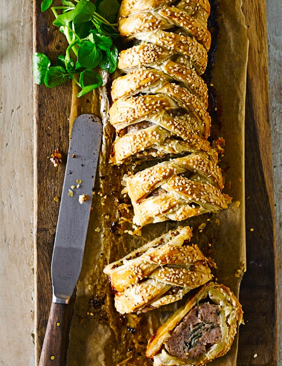 Sausage Plait Recipe with Fennel