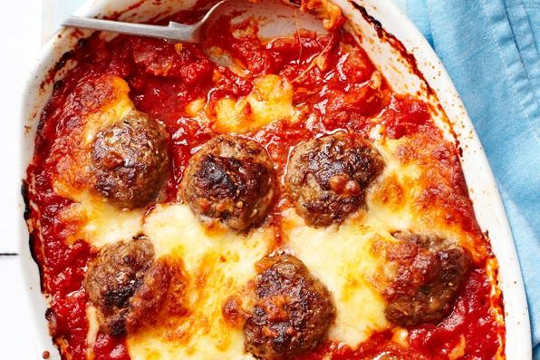 Italian Baked Meatballs Recipe