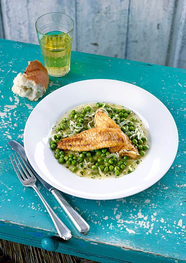 Gurnard Fish Recipe With Peas and Cider