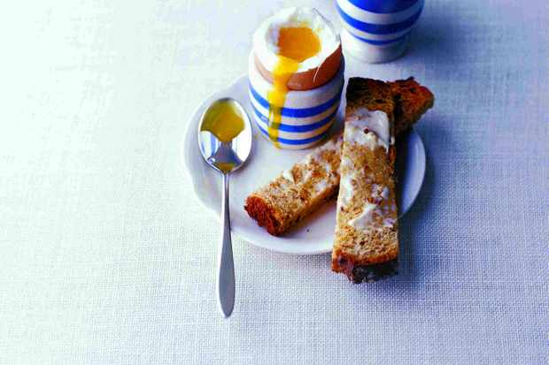 Perfect Boiled Eggs Recipe