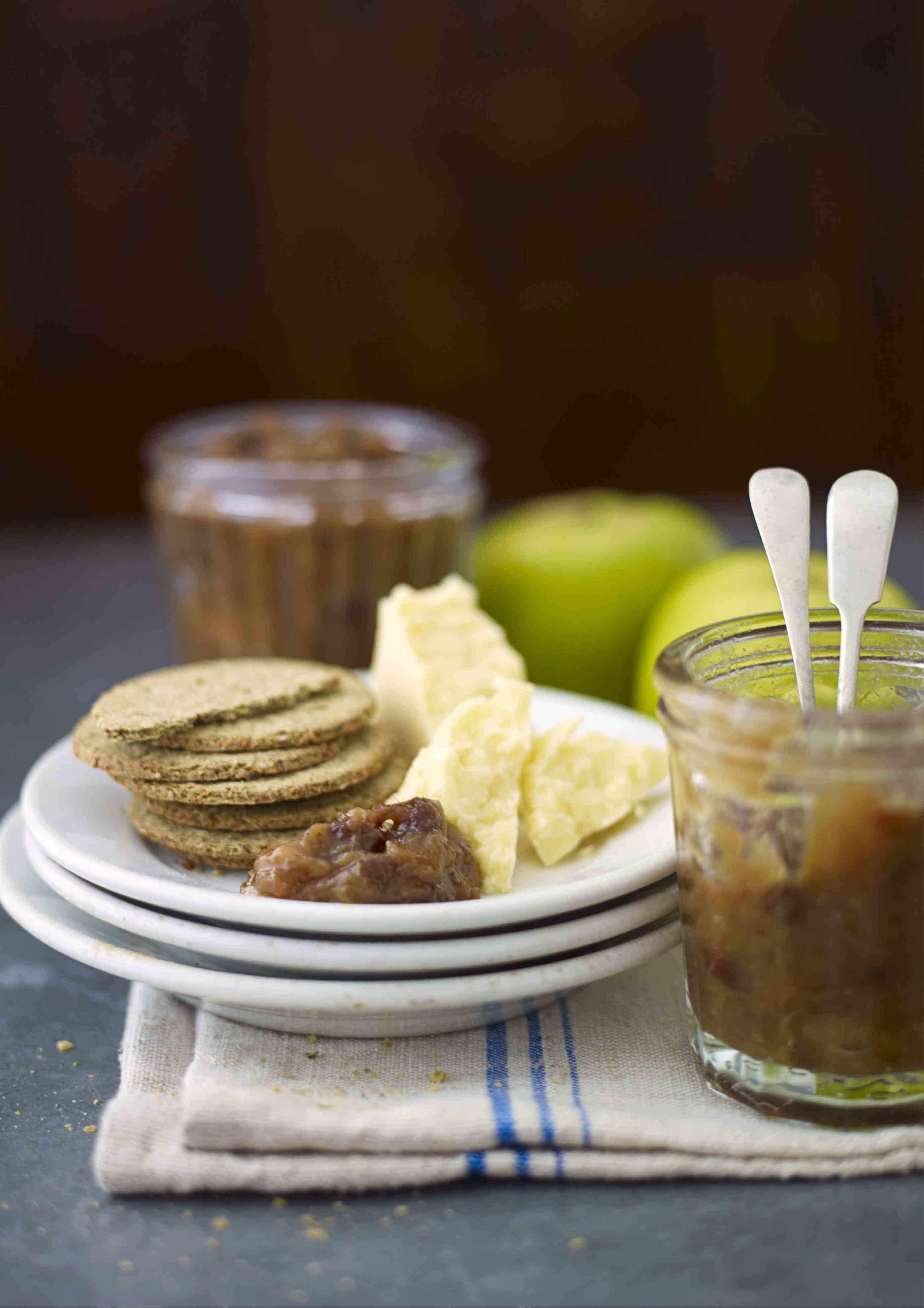 Rhubarb and Apple Chutney Recipe