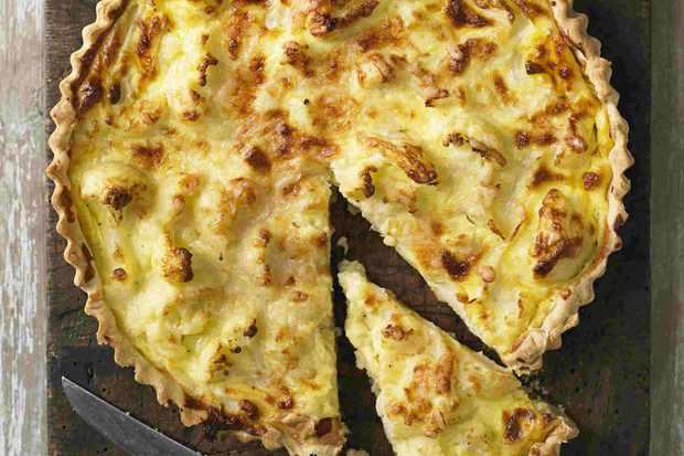 Cauliflower Cheese Tart Recipe