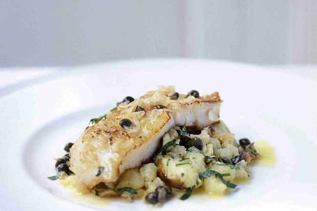 Halibut Recipe With Jersey Royals