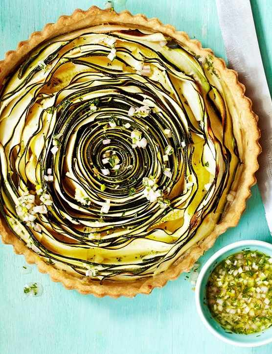 Spiral Courgette Tart Recipe