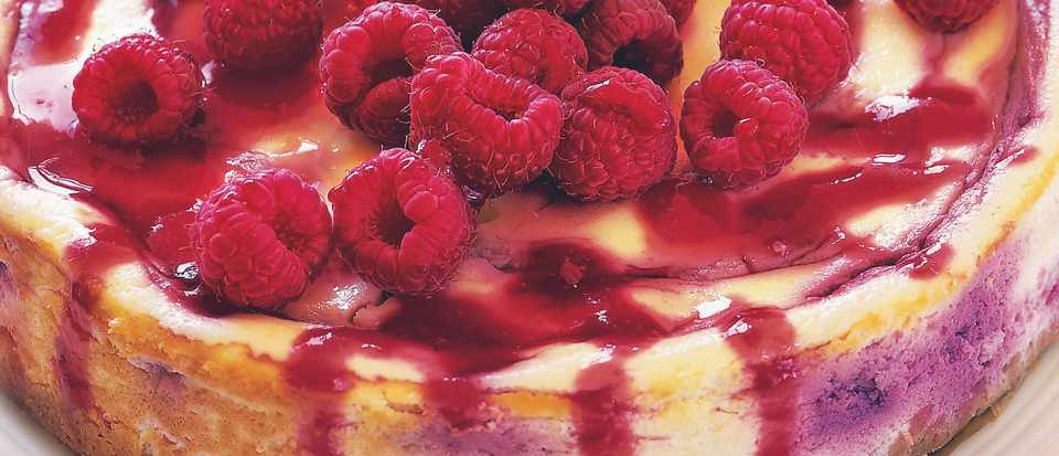 Baked Raspberry Cheesecake Recipe