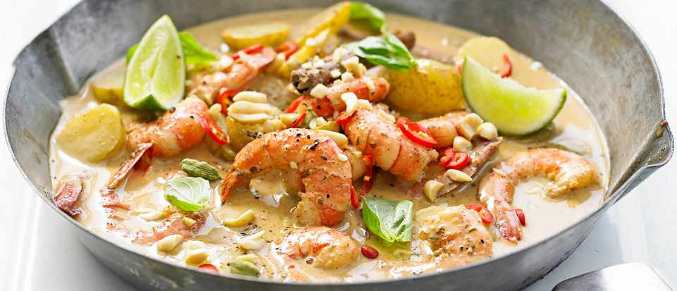 Thai Prawn Massaman Curry Recipe