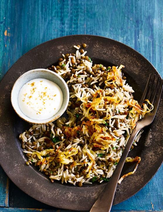 Mujadara Recipe for Lebanese Rice