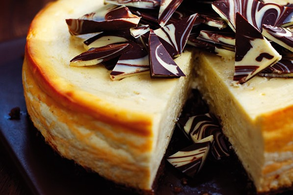 White chocolate and Baileys cheesecake recipe