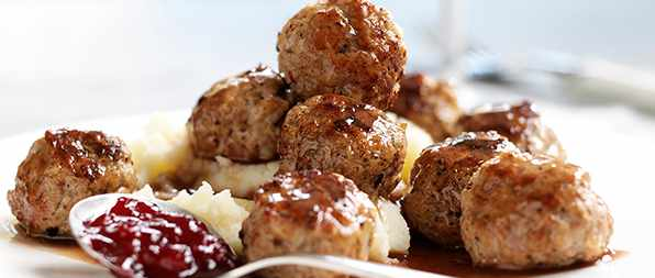 Swedish Meatballs Recipe With Lingonberry Sauce