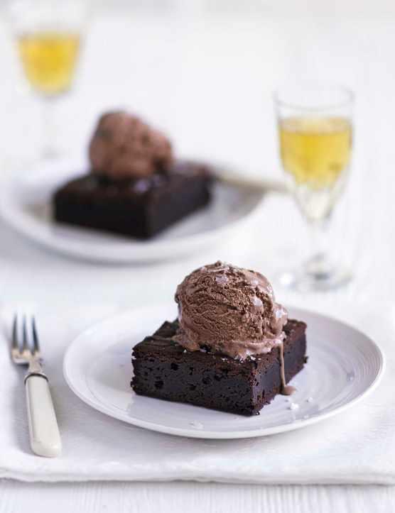 Malted Horlicks Brownies Recipe with Sea Salt