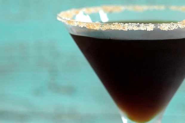 Gingerbread and espresso martini cocktail