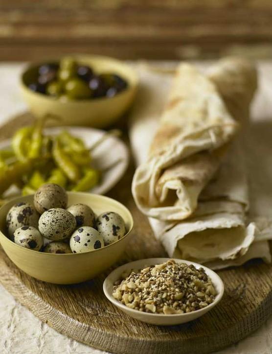 Quail Eggs Recipe with Dukkah Spice Mix