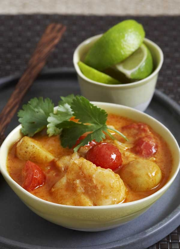 Thai Red Fish Curry Recipe
