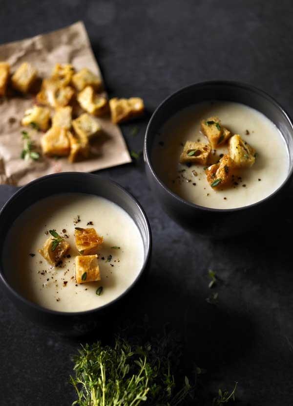 Celeriac Soup Recipe With Cheddar