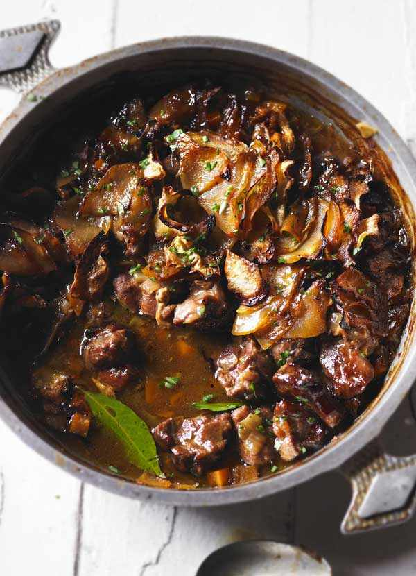 Lamb Hotpot Recipe with Swede Topping