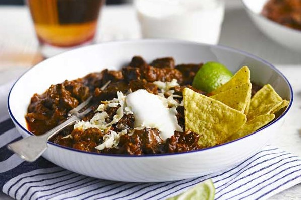 Texas Red Chilli Recipe