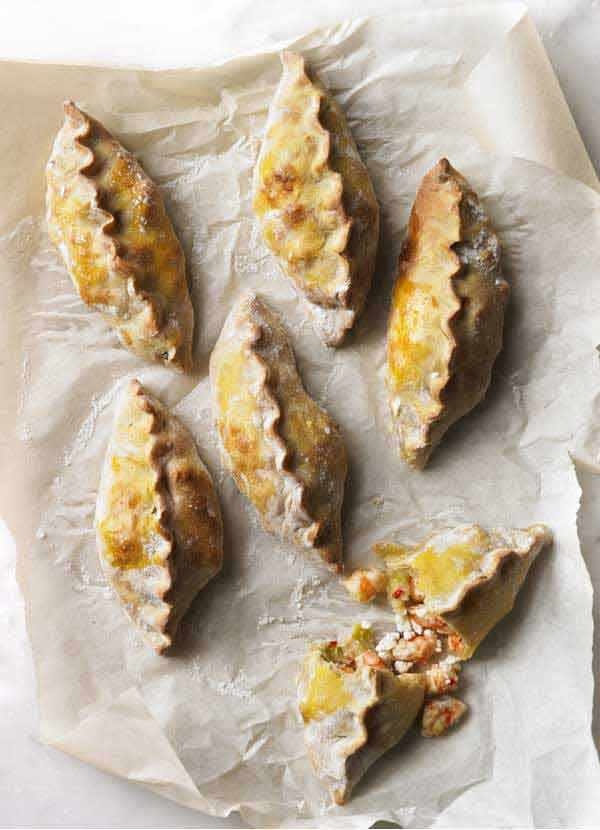 Prawn Empanadas Recipe with Spring Onions