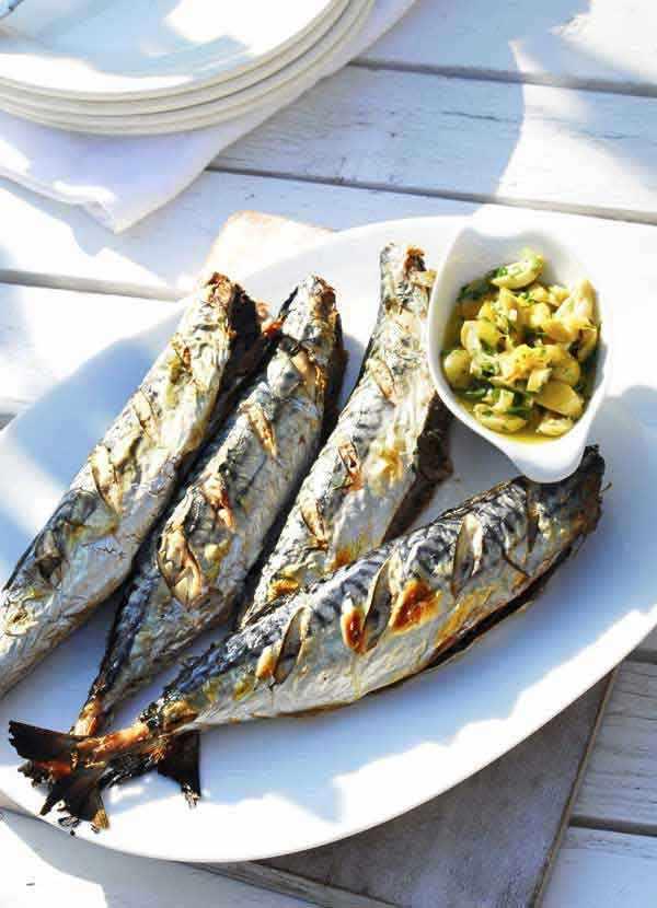 Mackerel Recipe with Lemon Salsa