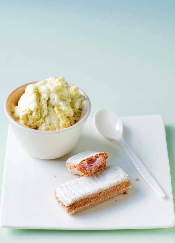Zabaglione Ice Cream Recipe
