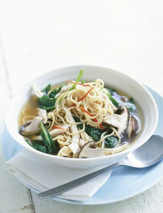 Chinese Chicken Noodle Broth Recipe