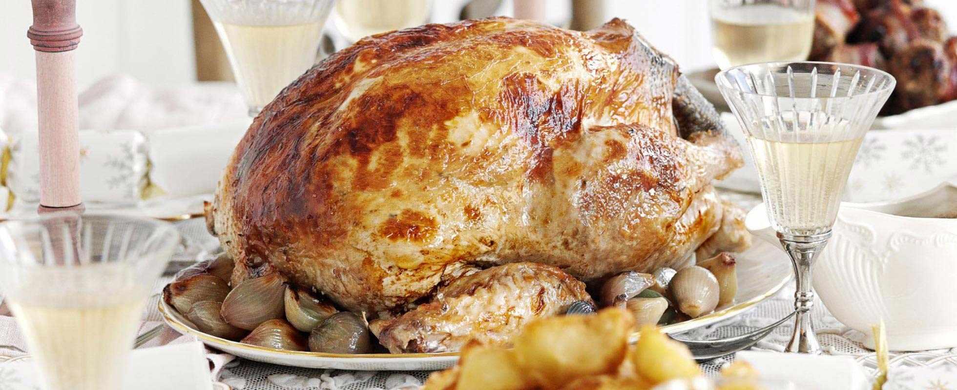 Turkey with shallots