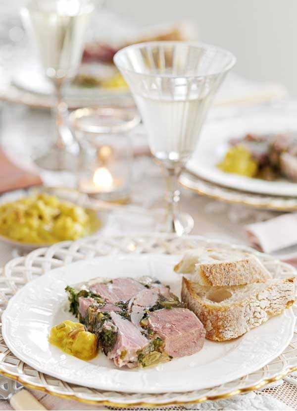 Ham Hock Terrine with Piccalilli Recipe