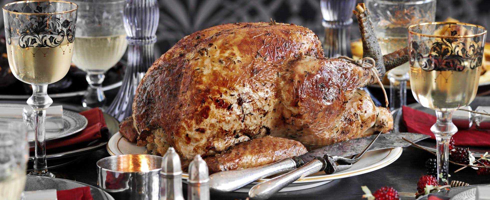 Easy Italian Roast Turkey