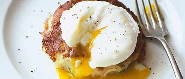 Brussels Bubble And Squeak With Poached Egg Recipe