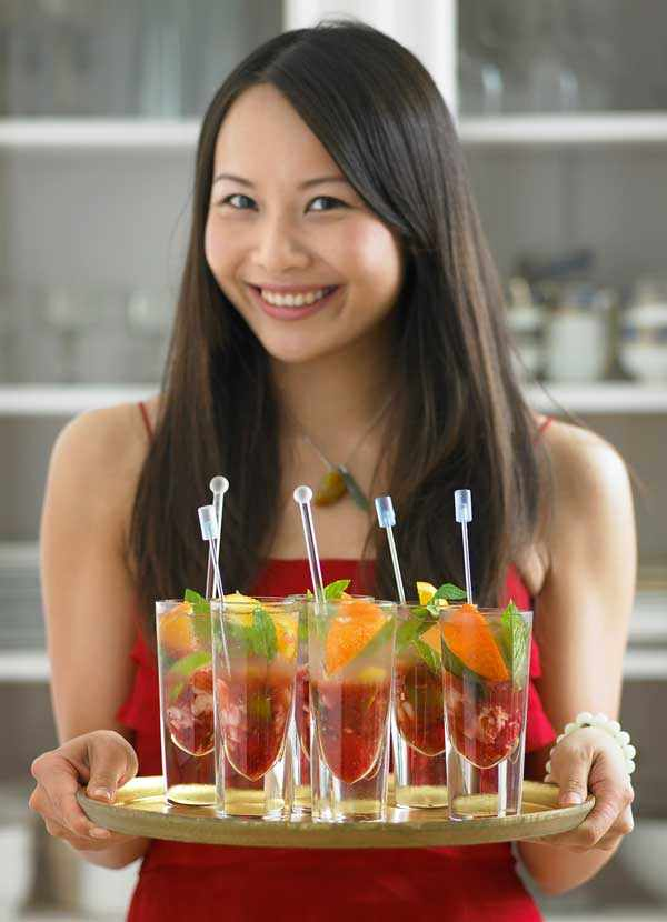 Mojito Recipe with Lychee and Mandarin