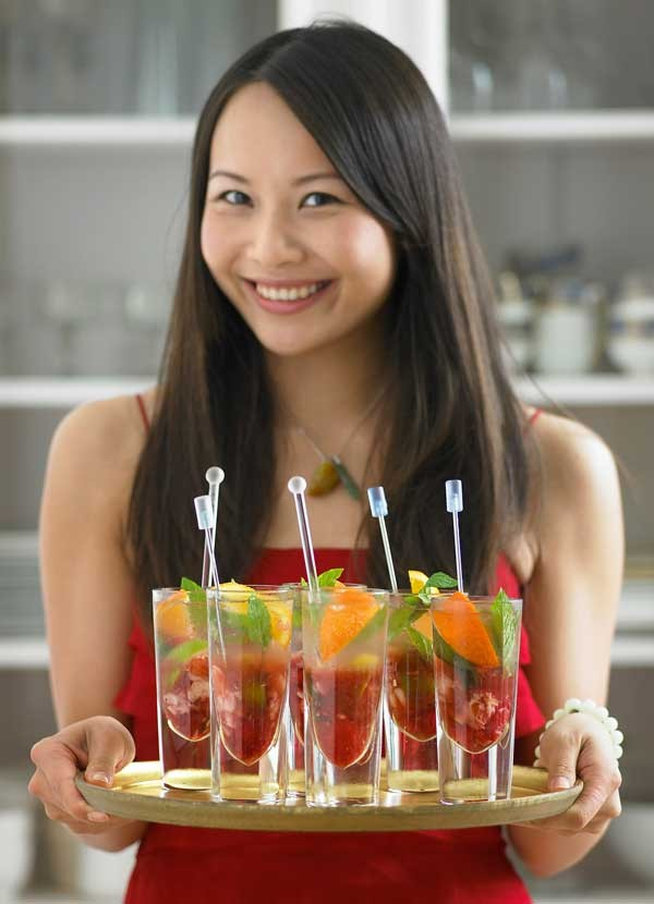 Mojito Recipe with Lychee and Mandarin