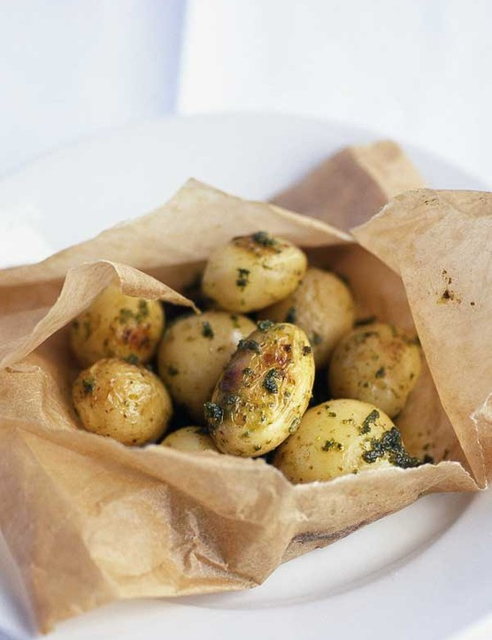 New Potatoes Recipe With Herb Butter
