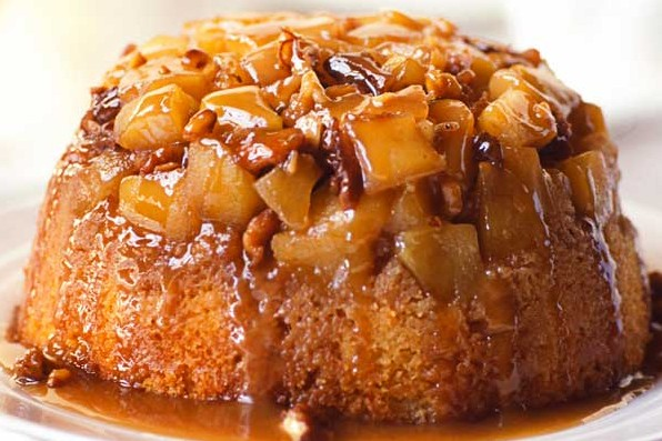 Apple Steamed Pudding Recipe With Sticky Toffee Sauce