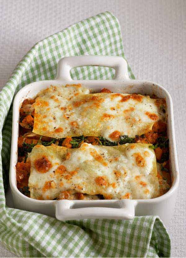 Squash, Ricotta and Sage Vegetarian Lasagne Recipe