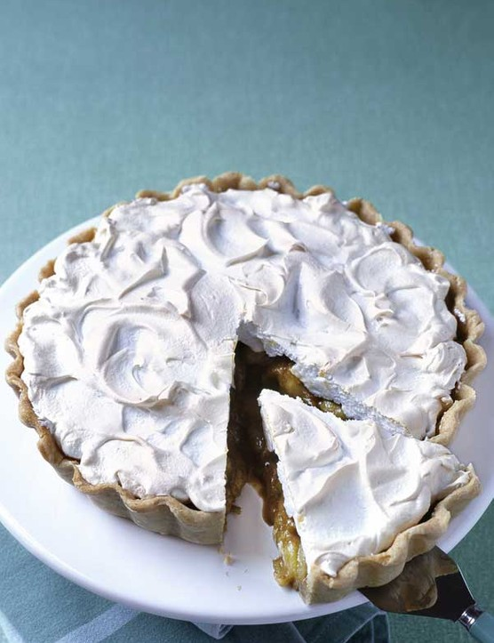 Gooseberry Meringue Tart Recipe