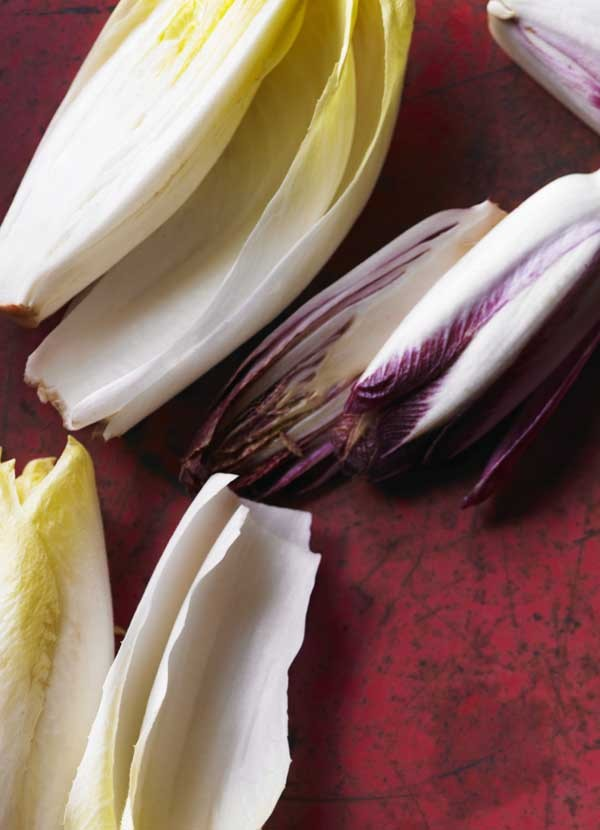 Chicory Recipe with Walnuts and Gorgonzola