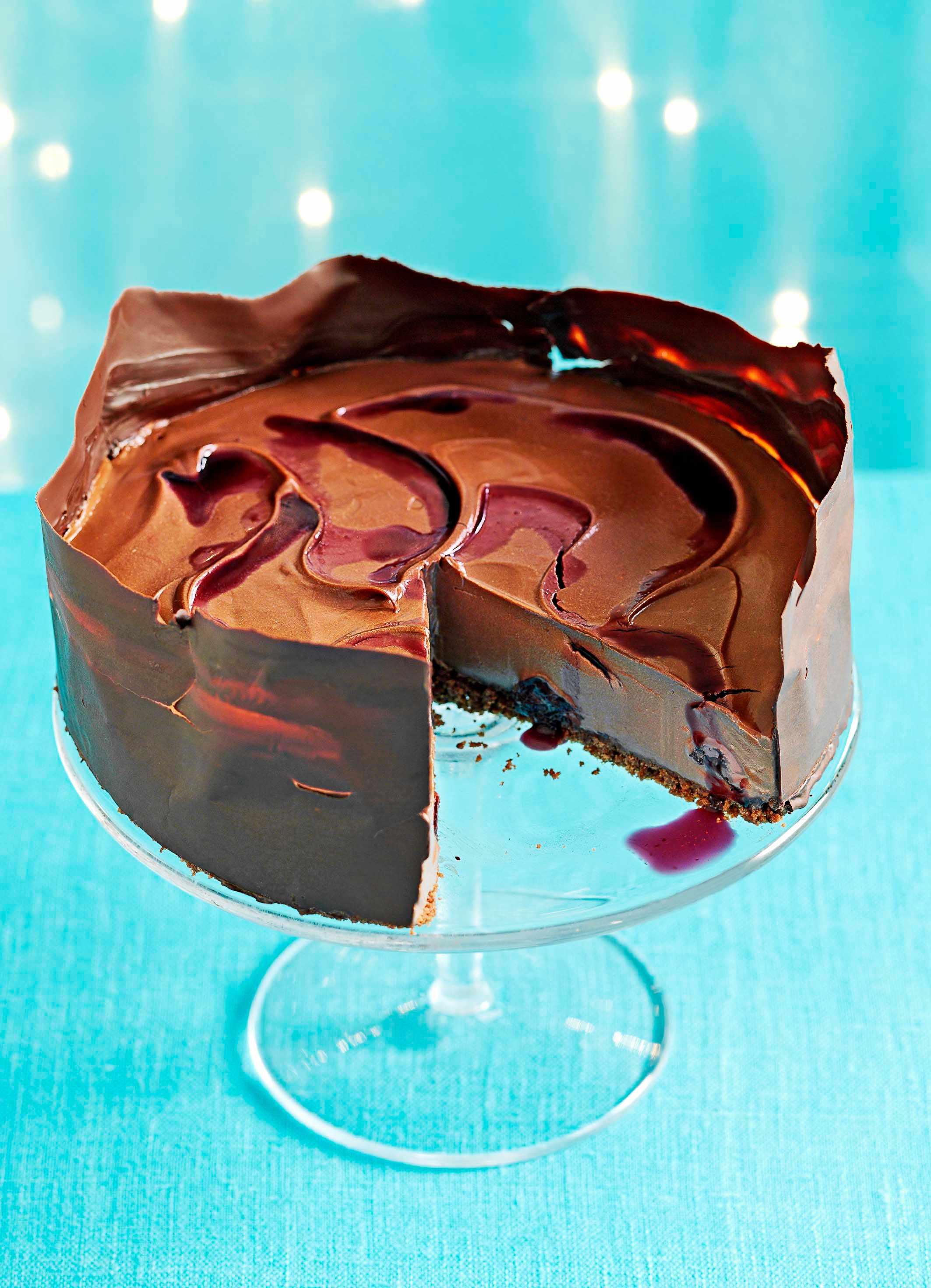 Black Forest Cheesecake Recipe