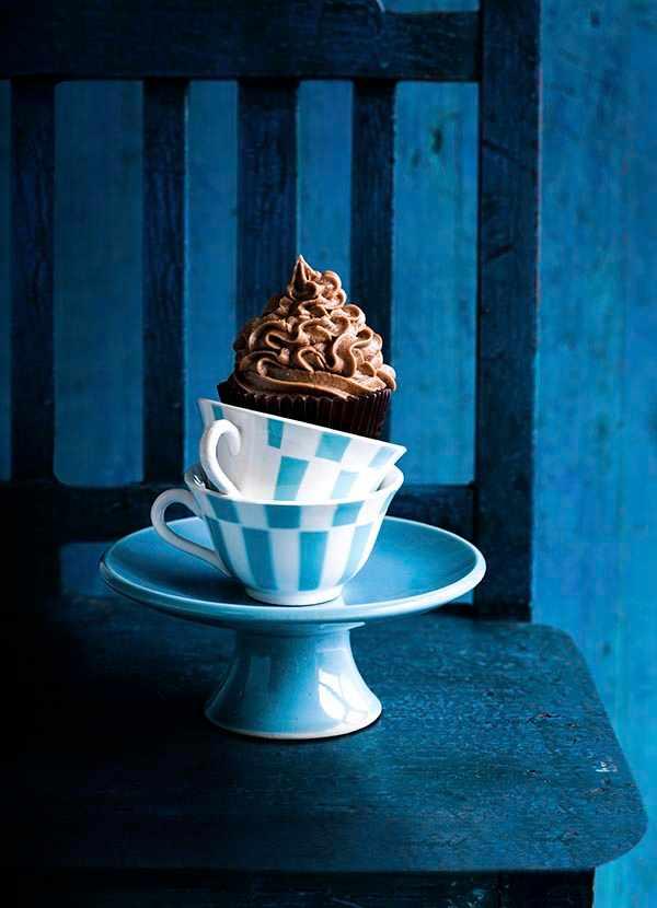 Coffee and Walnut Cupcakes Recipe