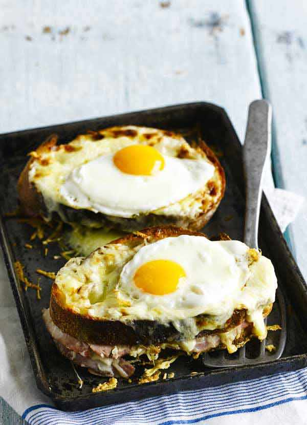 Easy Croque Madame RecipeEasy Croque Madame Recipe