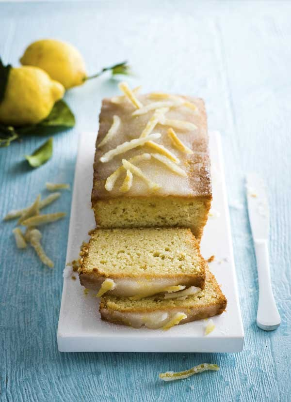 Lemon Drizzle Loaf Cake Recipe