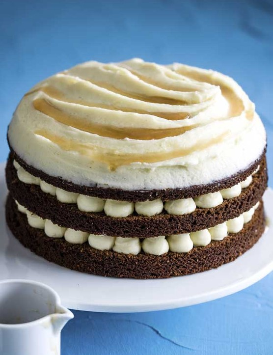 Carrot Cake Recipe with Maple Frosting